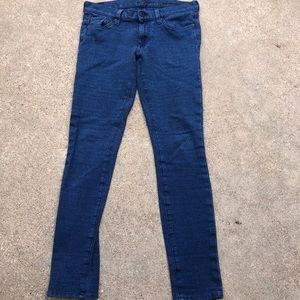 7 for All Mankind Gwenevere Stretch Jeans 27